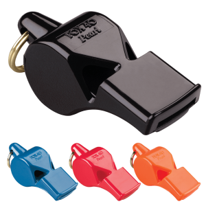 Fox 40 Pearl Whistle - Black/Blue/Red/Orange
