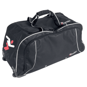 Precision Referee Trolley Bag - Black / Silver